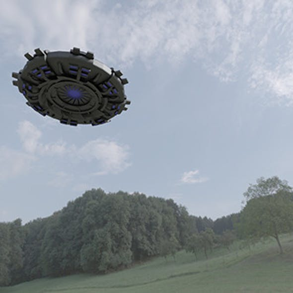 UFO - Flying Saucer Spacecraft