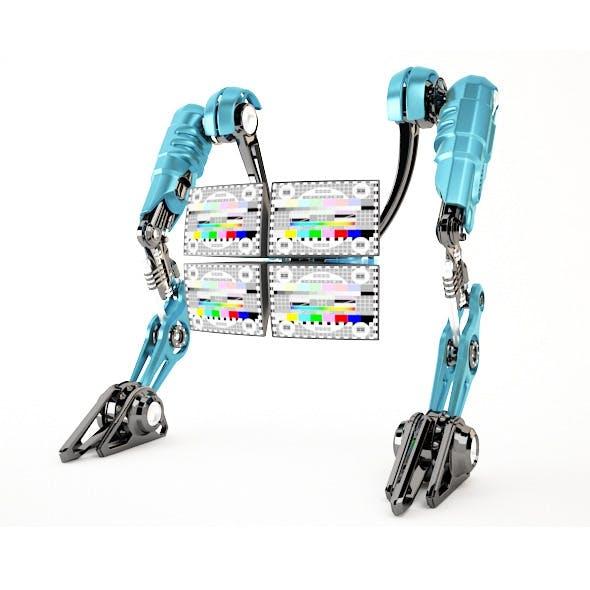 Robot 4TV - 3DOcean Item for Sale