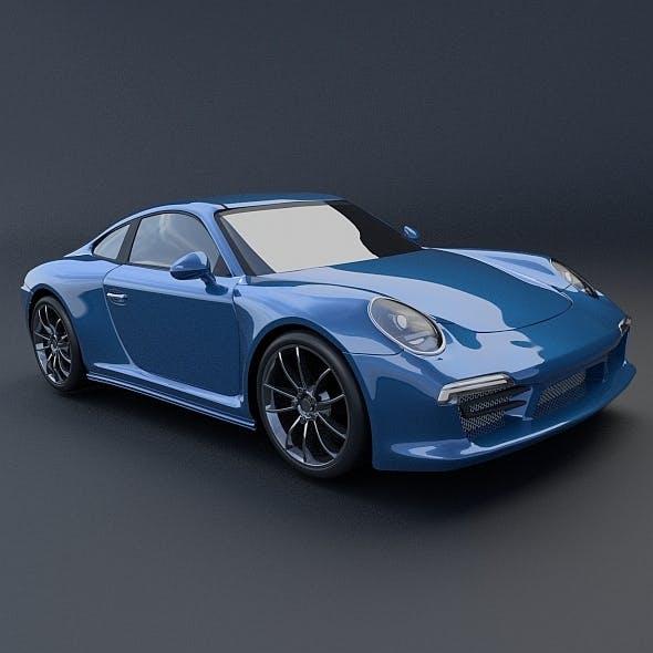 Porsche Carrera 911 4s 2014 restyled - 3DOcean Item for Sale