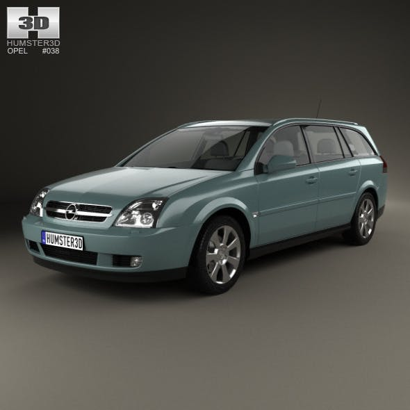 Opel Vectra caravan 2002 - 3DOcean Item for Sale