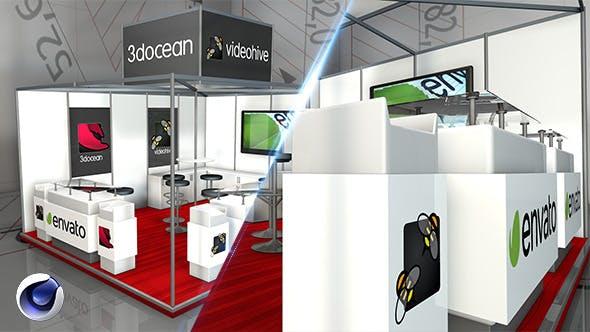 Amaizing Exhibition Pavilion 5 - 3DOcean Item for Sale