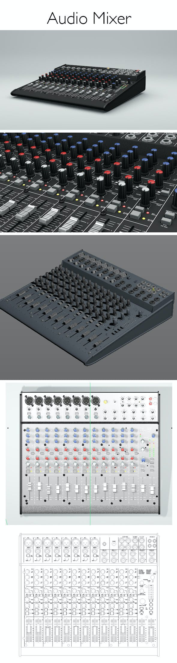 Audiomixer - 3DOcean Item for Sale