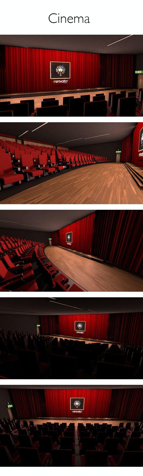 Cinema - 3DOcean Item for Sale