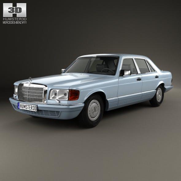 Mercedes-Benz S-Class (W126) 1979 - 3DOcean Item for Sale