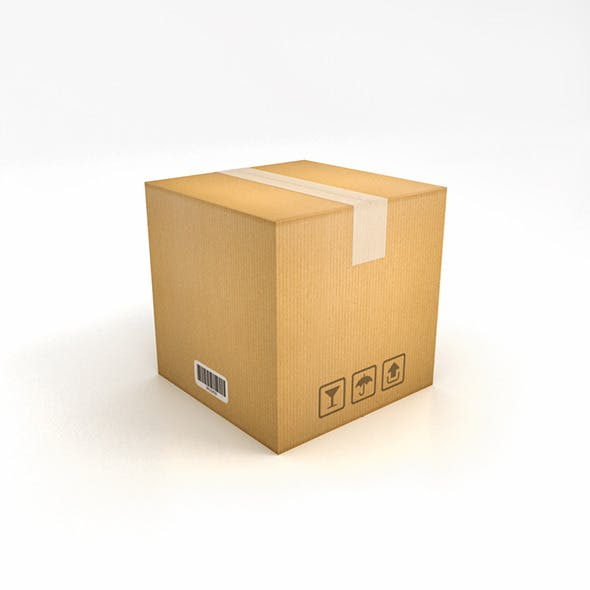 Packaging Box - 3DOcean Item for Sale