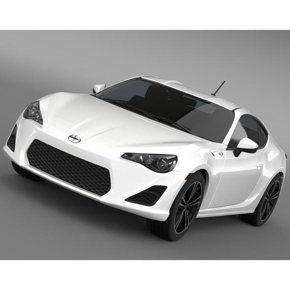 Scion FR S 2012 - 3DOcean Item for Sale