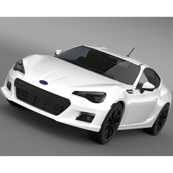 Subaru BRZ 2.0R ZC6 2012 - 3DOcean Item for Sale