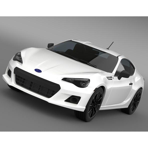 Subaru BRZ 2.0RA ZC6 2012 - 3DOcean Item for Sale