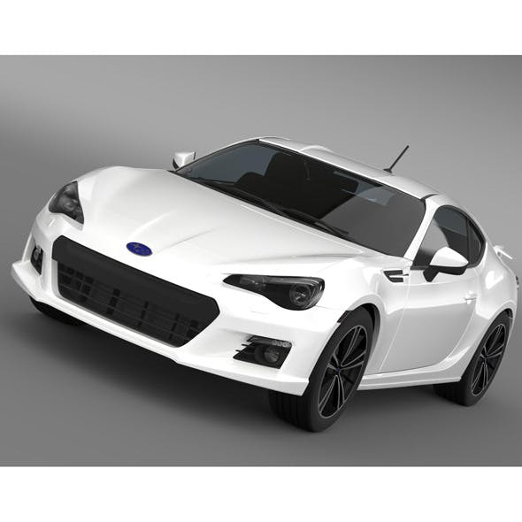 Subaru BRZ Aero Package ZC6 2012 - 3DOcean Item for Sale