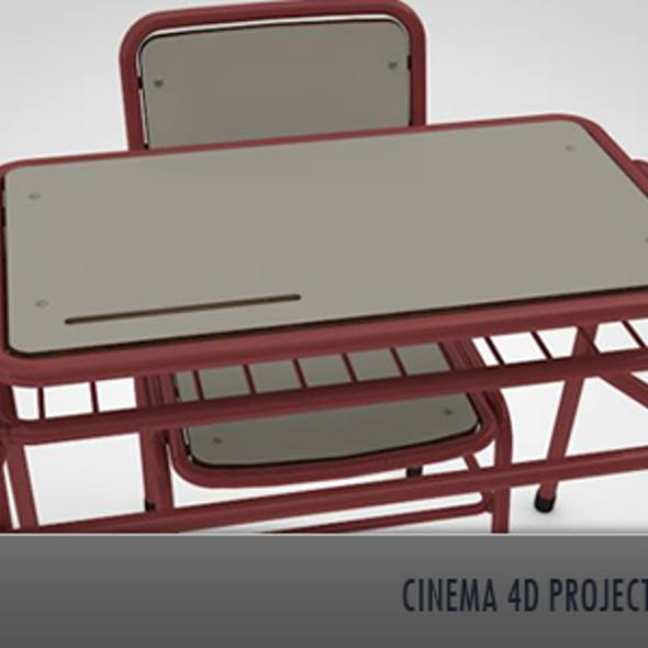 School Desk & Chair