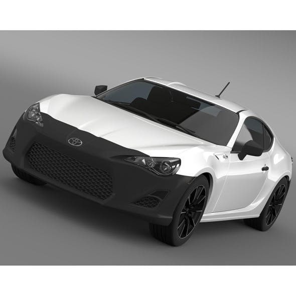 Toyota 86 RC 2012 - 3DOcean Item for Sale
