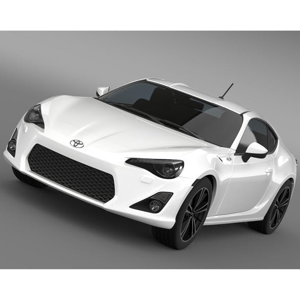 Toyota GT 86 2012 - 3DOcean Item for Sale