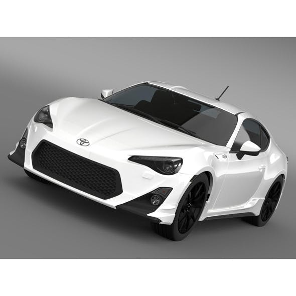 TRD Toyota GT 86 2014 - 3DOcean Item for Sale