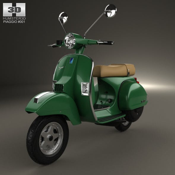 Piaggio Vespa PX 125 2012 by humster3d | 3DOcean