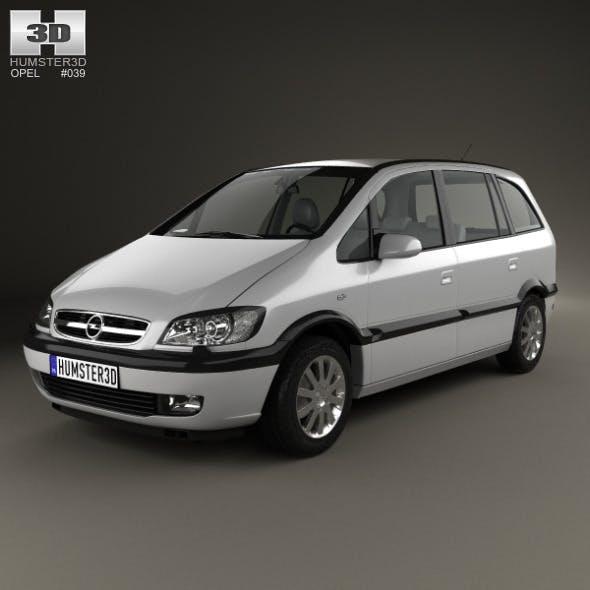 Opel Zafira (A) 2000 - 3DOcean Item for Sale