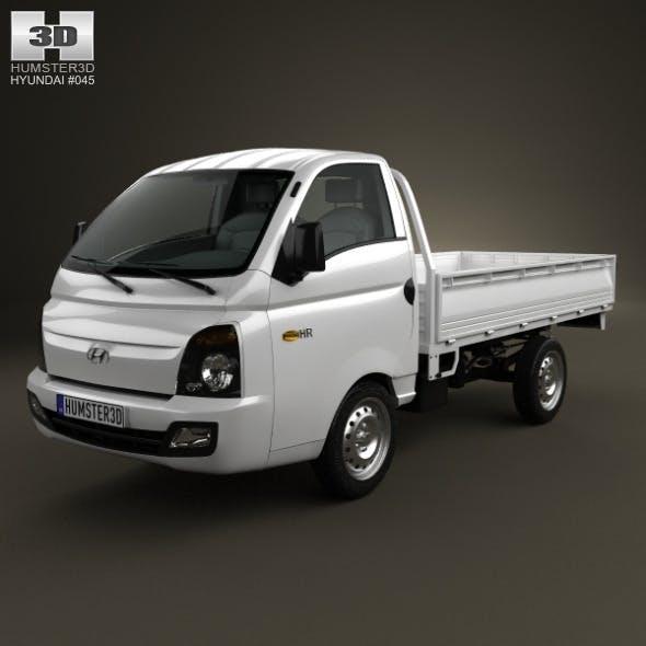 Hyundai HR (Porter) Flatbed Truck 2013