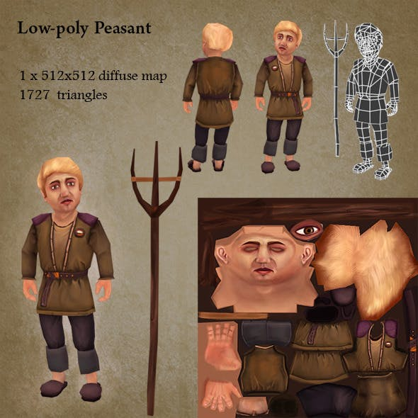 Low poly character