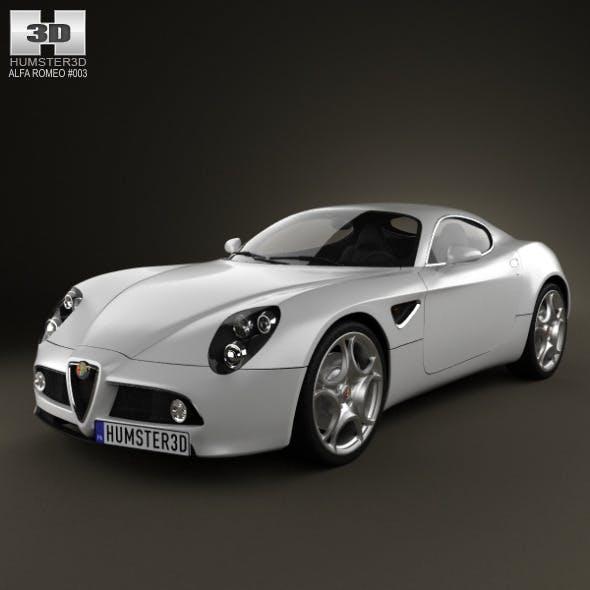 Alfa-Romeo 8C Competizione 2007 - 3DOcean Item for Sale