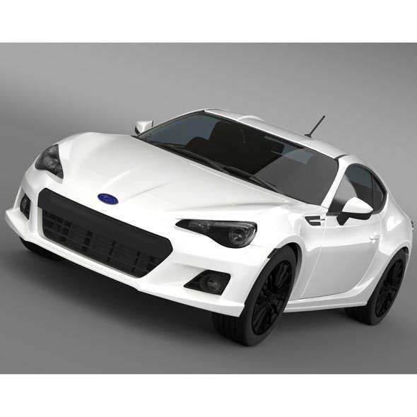 Subaru BRZ Premium Sport Package ZC6 2013 - 3DOcean Item for Sale