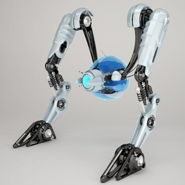Robot NRTV100 - 3DOcean Item for Sale