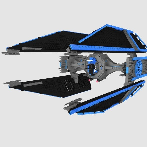 Lego Tie-vector - 3DOcean Item for Sale