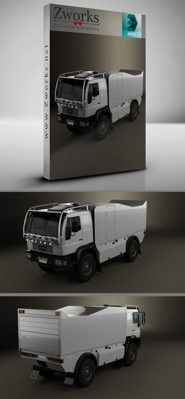 MAN L 2000 Truck - 3DOcean Item for Sale