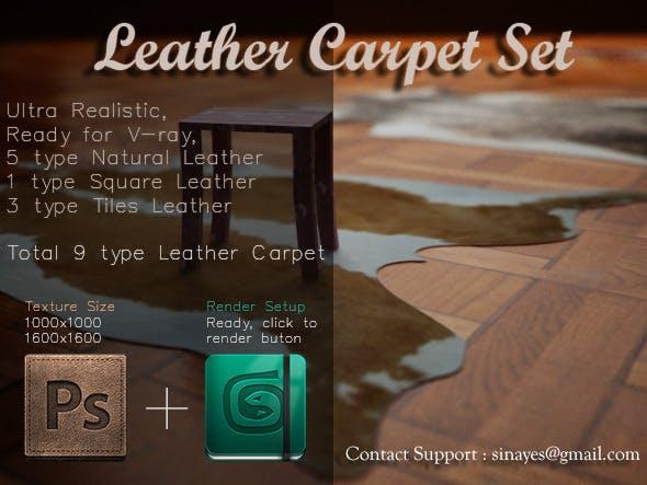 Leather Carpet Set - 3DOcean Item for Sale