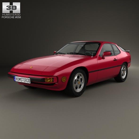 Porsche 924 1976 - 3DOcean Item for Sale