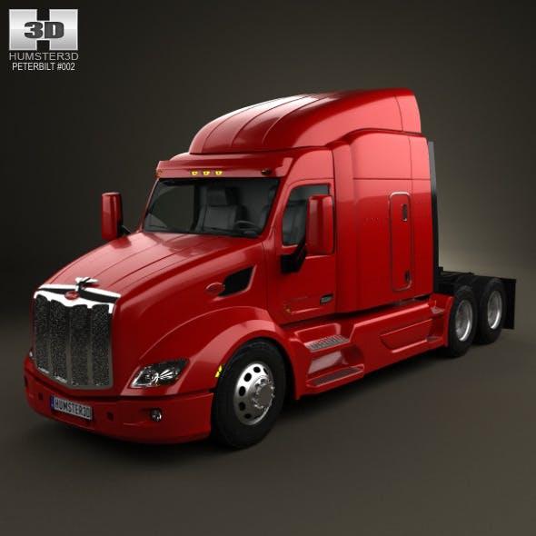 Peterbilt 579 Tractor Truck 2012 - 3DOcean Item for Sale