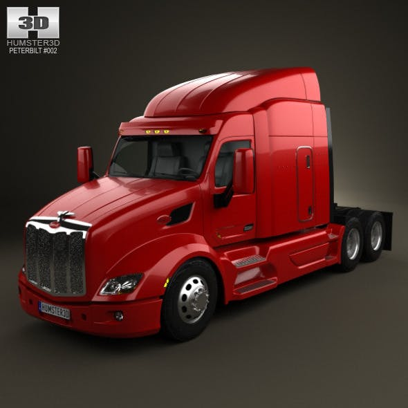 Peterbilt 579 Tractor Truck 2012