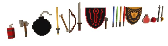 Voxel Weapons Pack - 3DOcean Item for Sale