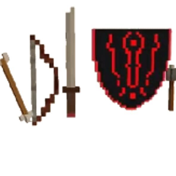 Voxel Weapons Pack