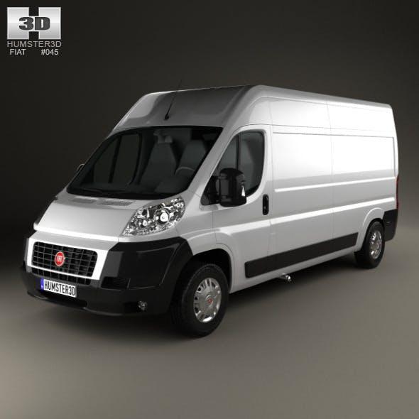 Fiat Ducato Panel Van LWB 2012 - 3DOcean Item for Sale