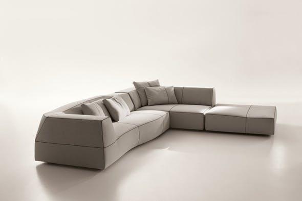 Bend Sofa - 3DOcean Item for Sale