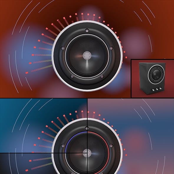 Audio Visualization Template