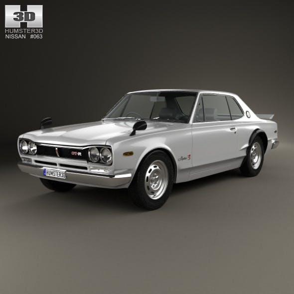Nissan Skyline (C10) GT-R Coupe 1970 - 3DOcean Item for Sale