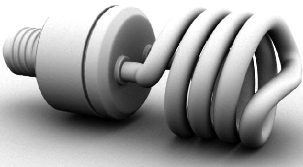 Light Bulb - 3DOcean Item for Sale