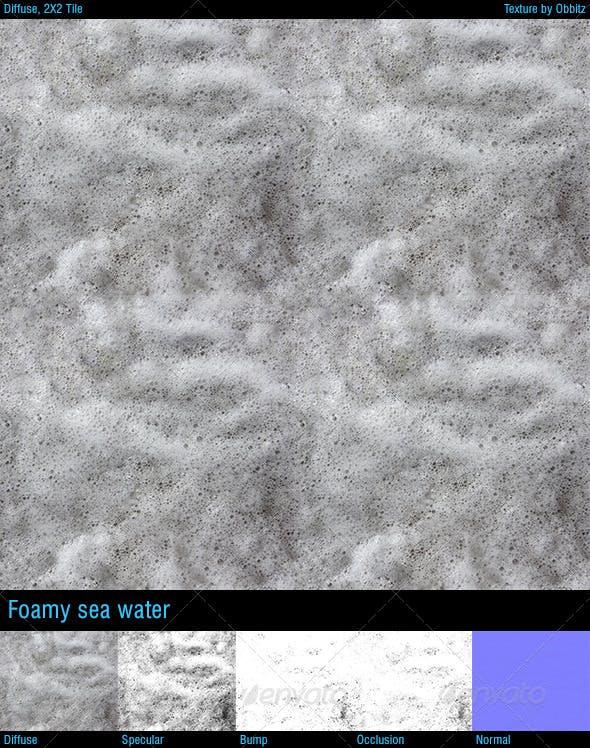 Foamy seawater - 3DOcean Item for Sale