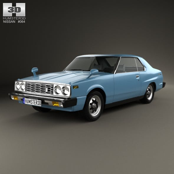 Nissan Skyline (C210) GT Coupe 1977