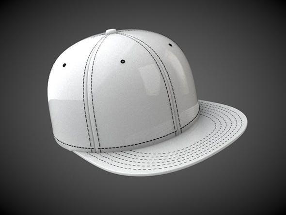 Flat Peak Hat - 3DOcean Item for Sale