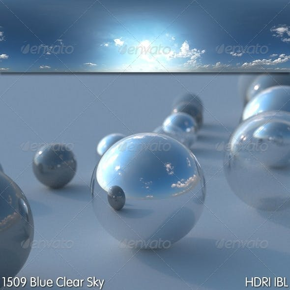 HDRI IBL 1509 Blue Clear Sky - 3DOcean Item for Sale