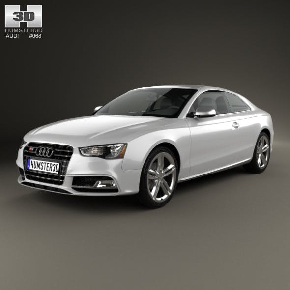 Audi S5 coupe 2012 - 3DOcean Item for Sale