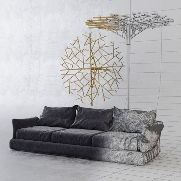 Sofa_constanta - 3DOcean Item for Sale