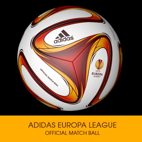 Adidas Europa League Ball 3D model - 3DOcean Item for Sale