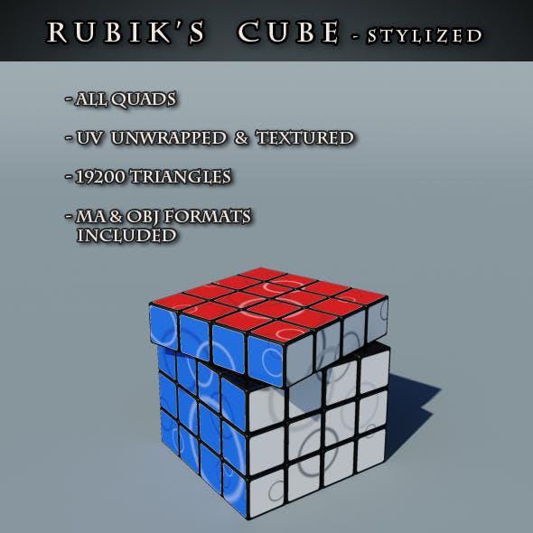 Rubix's Cube Stylized
