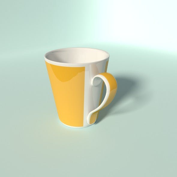 Coffee Cup Large - 3DOcean Item for Sale
