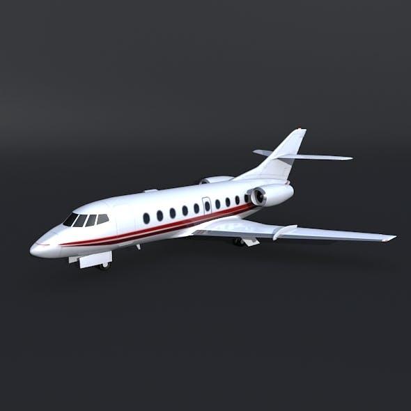 Dassault Falcon 30 business jet - 3DOcean Item for Sale