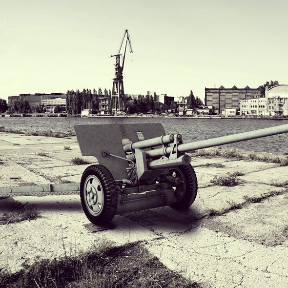 ZiS-2 Antitank canon