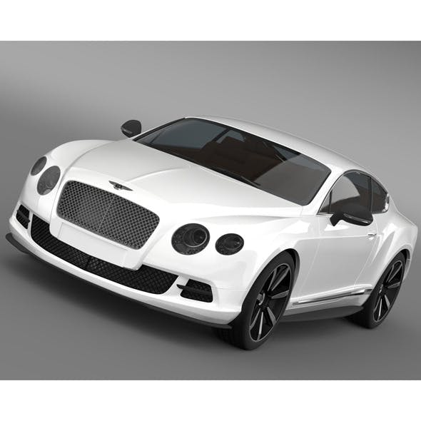 Bentley Continental GT Mulliner Styling 2011 - 3DOcean Item for Sale