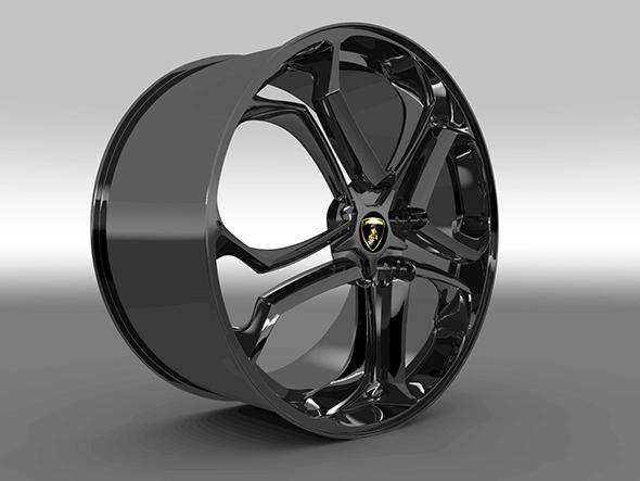 Rim for Lamborghini Aventador - 3DOcean Item for Sale